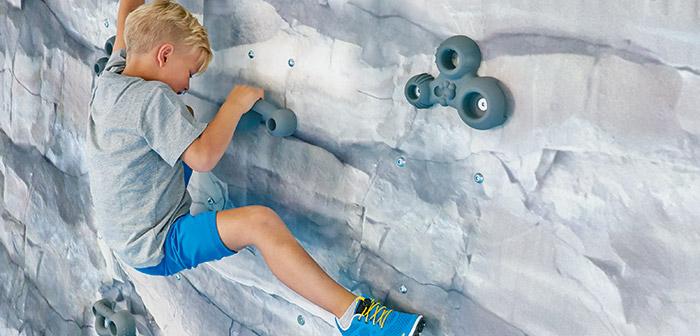 Klettern hält Körper und Seele fit