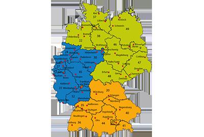 Wehrfritz Außendienst Deutschland