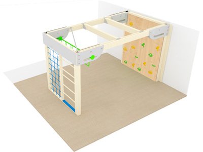 Bewegungscenter Timber - Planungsbeispiel - Variante 1