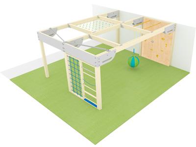 Bewegungscenter Timber - Planungsbeispiel - Variante 10