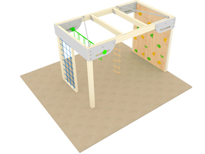 Bewegungscenter Timber - Planungsbeispiel - Variante 11