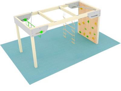 Bewegungscenter Timber - Planungsbeispiel - Variante 14