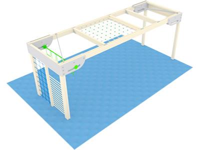 Bewegungscenter Timber - Planungsbeispiel - Variante 16