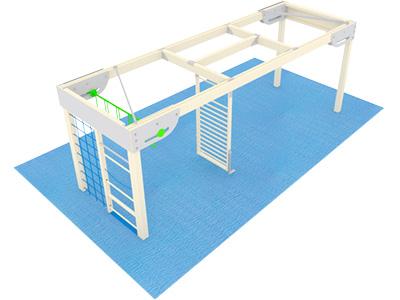 Bewegungscenter Timber - Planungsbeispiel - Variante 17