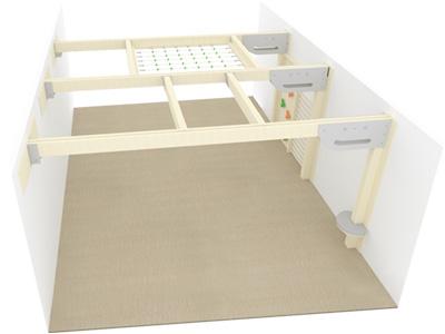 Bewegungscenter Timber - Planungsbeispiel - Variante 19