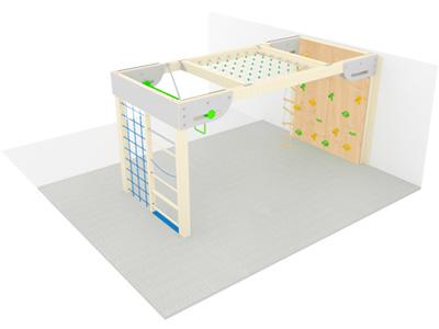Bewegungscenter Timber - Planungsbeispiel - Variante 2