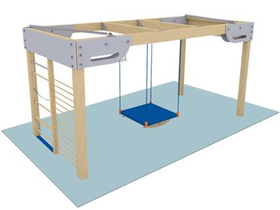 Bewegungscenter Timber - Planungsbeispiel - Variante 22