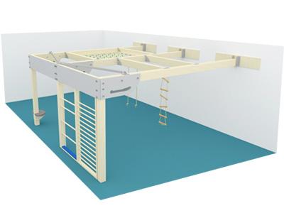 Bewegungscenter Timber - Planungsbeispiel - Variante 23
