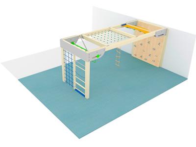 Bewegungscenter Timber - Planungsbeispiel - Variante 4