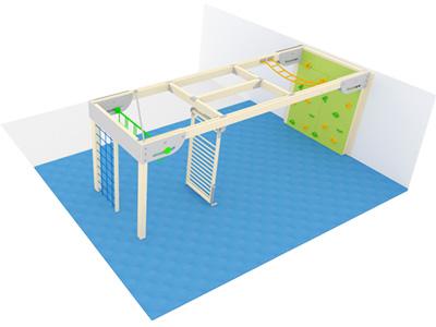 Bewegungscenter Timber - Planungsbeispiel - Variante 5