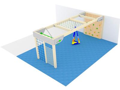 Bewegungscenter Timber - Planungsbeispiel - Variante 6