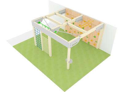 Bewegungscenter Timber - Planungsbeispiel - Variante 7