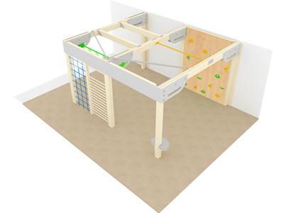 Bewegungscenter Timber - Planungsbeispiel - Variante 8