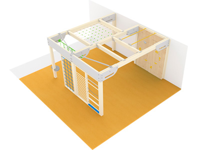 Bewegungscenter Timber - Planungsbeispiel - Variante 9