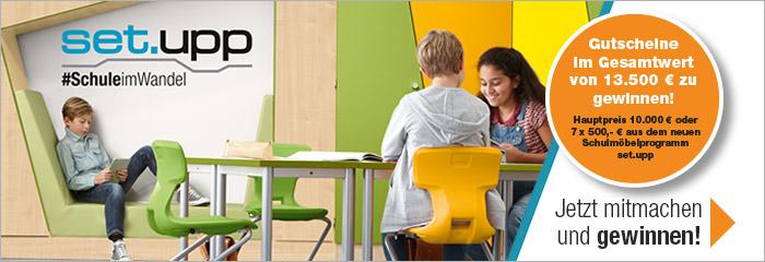 set.upp- das Möbelprogramm für die Schule