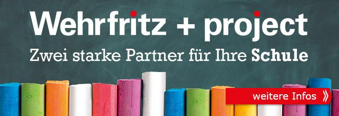 Wehrfritz + project - Zwei starke Partner für Ihre Schule