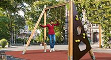 Außenspielgeräte zum Balancieren