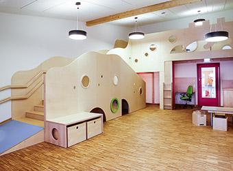 Kindergärten, Krippe oder Kita