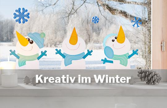 Kreativ im Winter