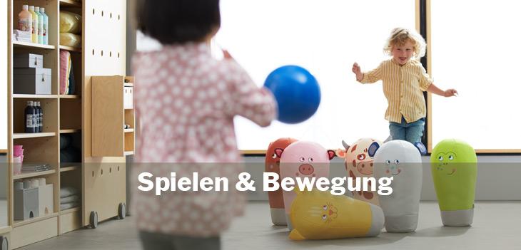 Spielen und Bewegung