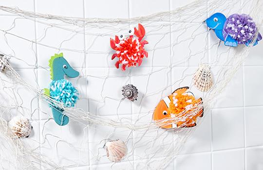 Sachenmacher Pompon-Meerestiere