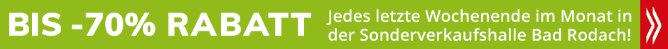 Wehrfritz Sonderverkauf