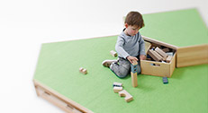 Podeste für Krippe & Kindergarten