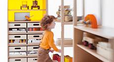 Schränke & Regale für Krippe & Kindergarten