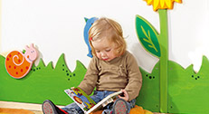 Wandgestaltung in Krippe & Kindergarten