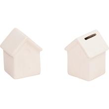 Keramik-Spardose Haus