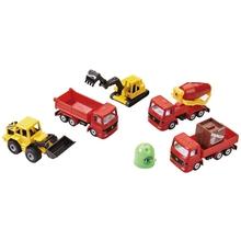 Baufahrzeuge-Set