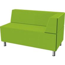 Relax-Sofa, rechteckig, Ecklehne rechts