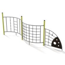 Wellenkletterwand – Variante 1