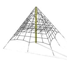 Seilnetz-Pyramide – Variante 1