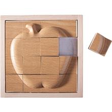 Relief-Puzzle Apfel