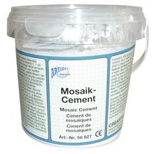Mosaik-Zement