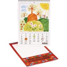 Kalender zum Selbstgestalten im Hochformat