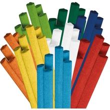 Krepp-Papier-Einzelfarben