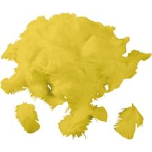 Federn, gelb