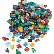 Softglas Mosaiksteine mit Glitzer, 750 g