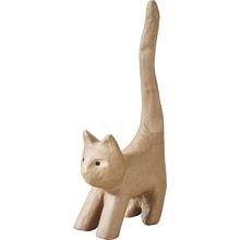 Pappmaché Katze groß