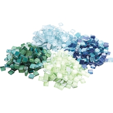 Mosaik-Mix nachtleuchtend/Glitter