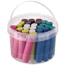 Kneteimer mit 6 Farben
