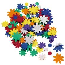 Moosgummi-Blumen