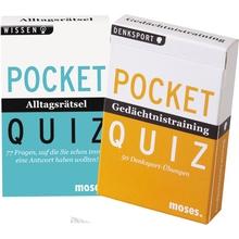 """Pocket-Quiz-Set """"Alltagsrätsel/Gedächtnis"""""""