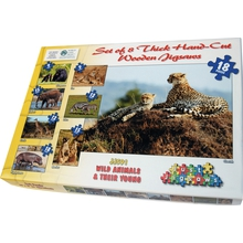"Puzzle-Set ""Safari"""