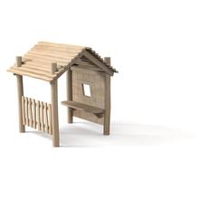 """Spielhaus """"Nikki"""", Variante 1, natur"""