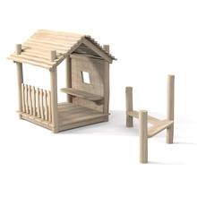 """Spielhaus """"Nikki"""", Variante 4, natur"""