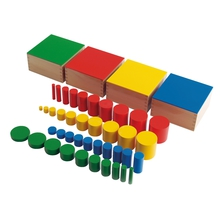 Farbige Zylinder 44-teilig