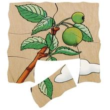"""Schichtenpuzzle """"Apfel"""""""